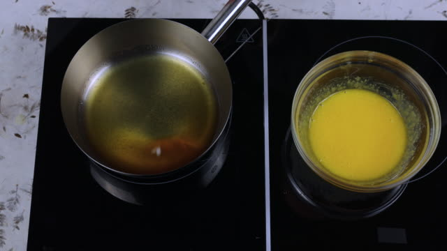 Caramel sauce preparation