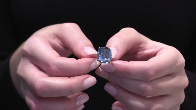 A 1203 carat blue diamond could fetch a record $55 million 51 million euros when it goes under the hammer at Sothebys auction house in Geneva on...