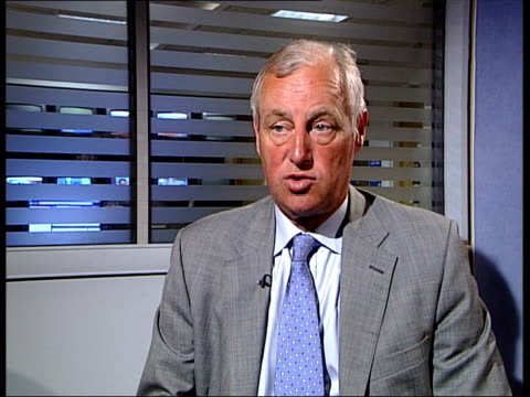 interview with tim yeo mp chairman of the environmental audit committee england london gir int tim yeo mp interview sot department of transport needs... - audit stock videos and b-roll footage