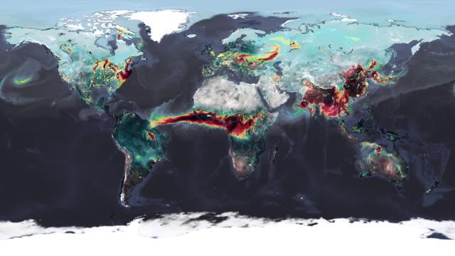 carbon monoxide pollution - information medium stock videos & royalty-free footage