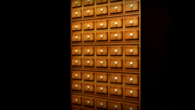 card index - filing cabinet stock videos & royalty-free footage