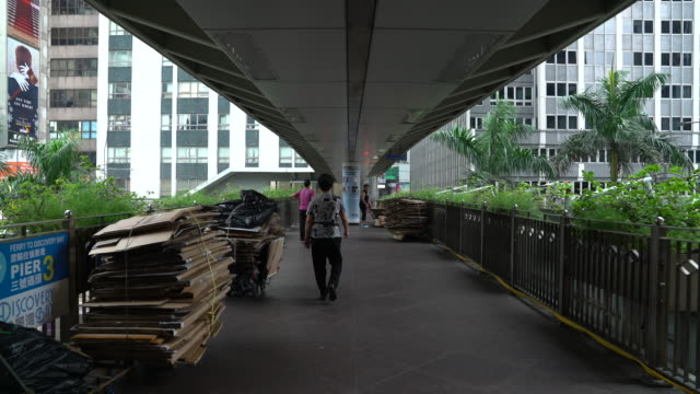 cardboard installation