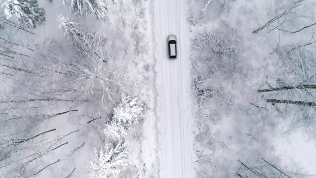 car/debica/poland - snow stock videos & royalty-free footage