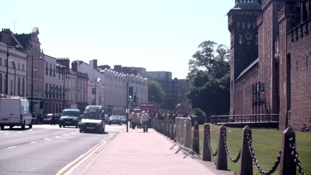 Cardiff Castle Street