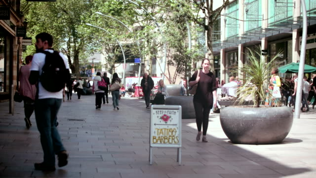 cardiff centre - cardiff wales stock videos & royalty-free footage