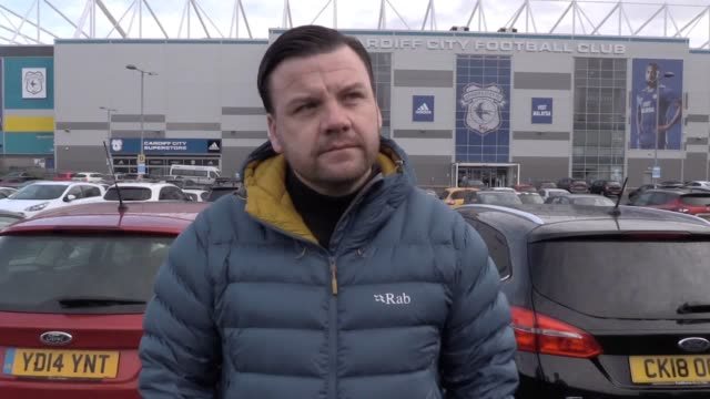 Cardiff City fan Chris Jenkins and chairman of the supporters trust Keith Morgan speak after it was confirmed Emiliano Sala was on board a plane that...