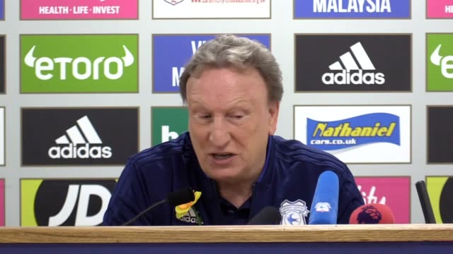Cardiff City manager Neil Warnock speaks ahead of the game with Southampton away