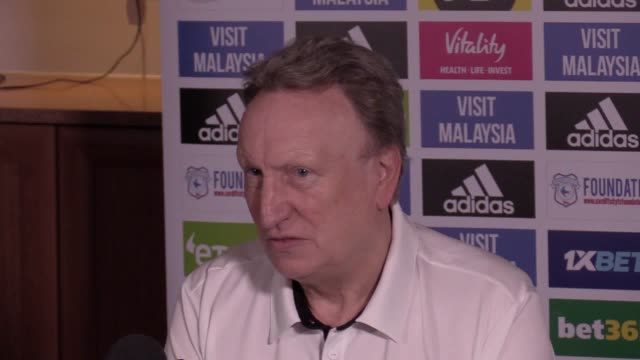 Cardiff manager Neil Warnock prematch press conference ahead of Premier League game at Newcastle on Saturday
