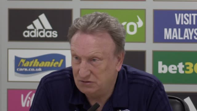 Cardiff manager Neil Warnock press conference ahead of Premier League home game against Watford on Friday