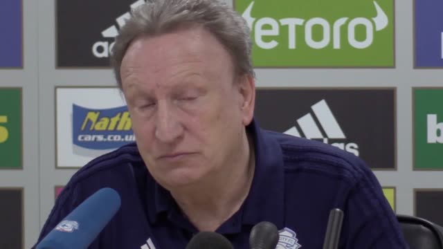 Cardiff manager Neil Warnock press conference ahead of Premier League home game against West Ham on Saturday