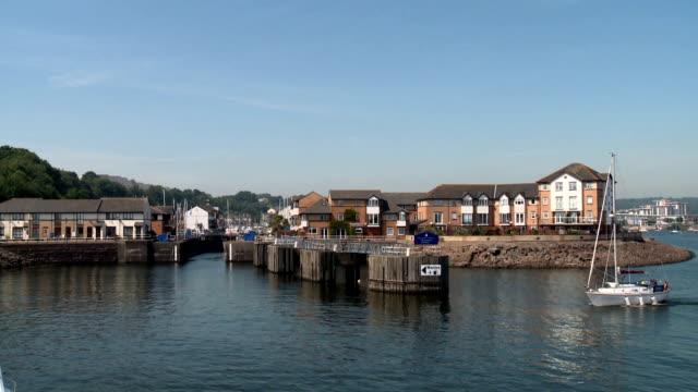 Cardiff Marina Enterance