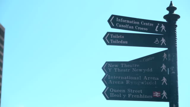 Cardiff Street Signs
