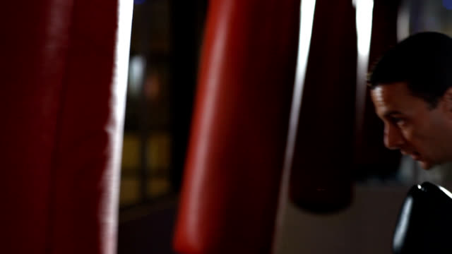 cardio boxing - boxing glove stock videos & royalty-free footage