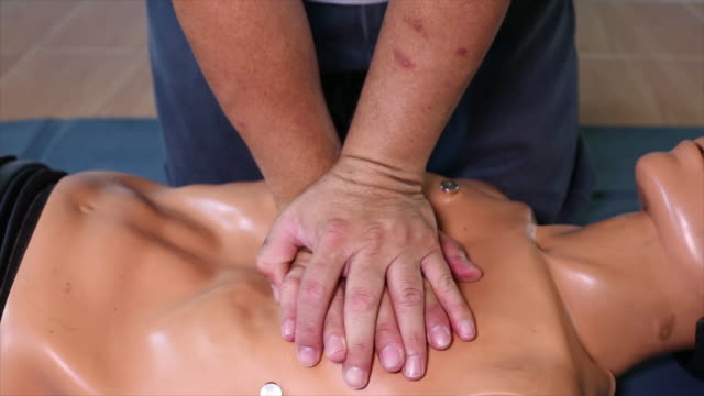 cardiopulmonary resuscitation,cpr - cpr stock videos & royalty-free footage