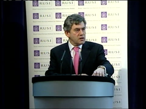 commons vote rusi int gordon brown mp speech sot at no point should any serious decision maker be soft or posture on security matters refuse to... - posture stock videos and b-roll footage