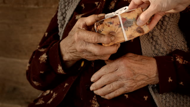 care for seniors citizens - donation box stock videos & royalty-free footage