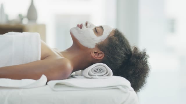 care for your skin and it will glow - spa stock videos & royalty-free footage