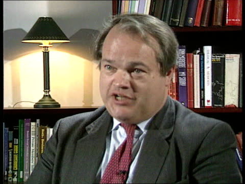 care in the community cms john bowis mp interview sot report is asking how we can achieve more effective implementation of current policy unknown... - mp stock-videos und b-roll-filmmaterial