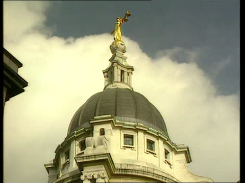 'care in the community' safeguards to be tightened itn london central criminal court la ms dome of the 'old bailey' with scales of justice statue la... - equal arm balance stock videos and b-roll footage