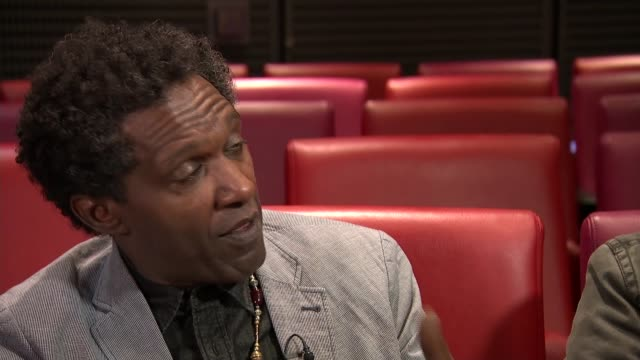 care leaver and poet lemn sissay sets out to help care leavers through writing england int lemn sissay interview sot alex interview sot - poetry stock videos & royalty-free footage