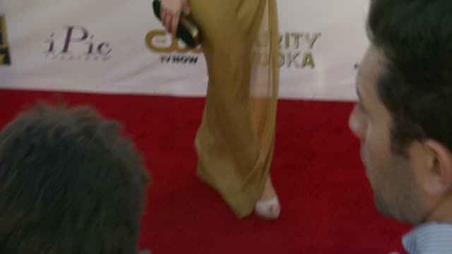 Caren Brooks at 19th Annual Critics' Choice Movie Awards Arrivals at The Barker Hanger on in Santa Monica California