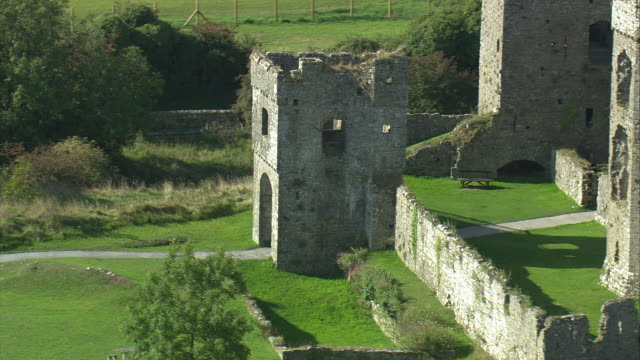 carew castle - pembrokeshire stock videos and b-roll footage