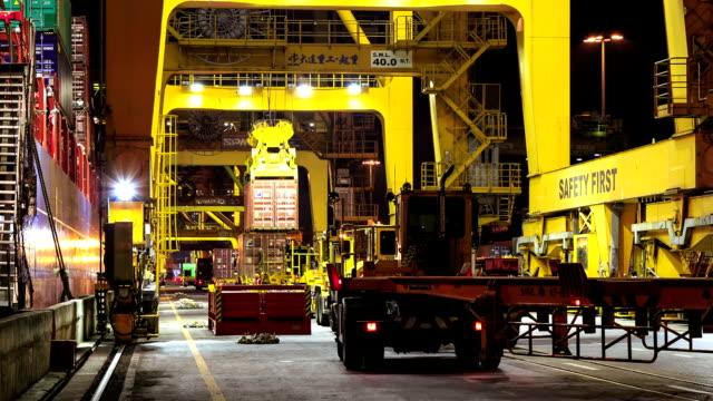 Cargo Container Truck