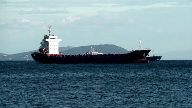 cargo ship - 4k resolution - distillery still stock videos & royalty-free footage