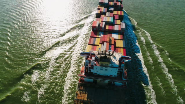 cargo ship - container ship stock videos & royalty-free footage