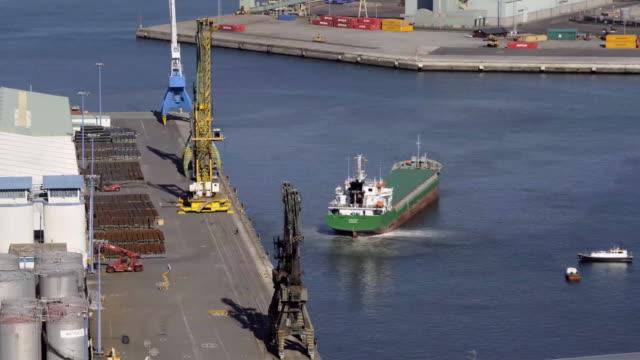 cargo ship - trinidad trinidad and tobago stock videos & royalty-free footage