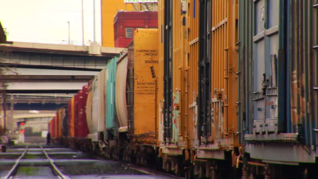 cargo train (with sound) - cargo train stock videos & royalty-free footage