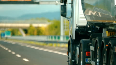 cargo transport. - articulated lorry stock videos & royalty-free footage