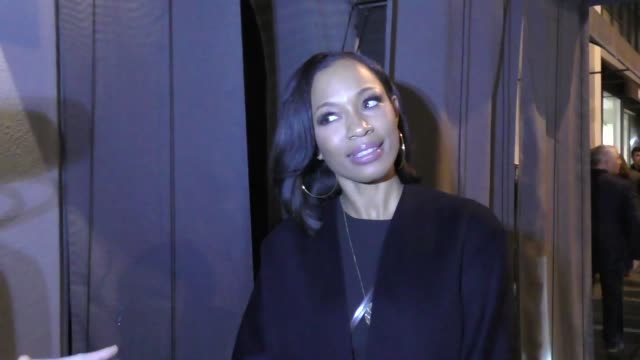 INTERVIEW Cari Champion on her Floyd Mayweather Jr beef at Craig's in West Hollywood at Celebrity Sightings in Los Angeles on February 10 2017 in Los...