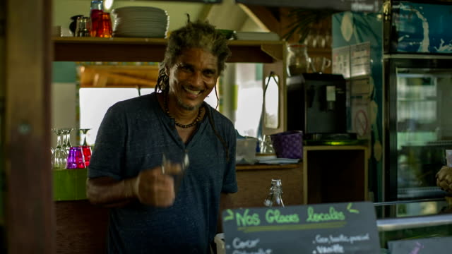 A Caribbean barkeeper from Martinique
