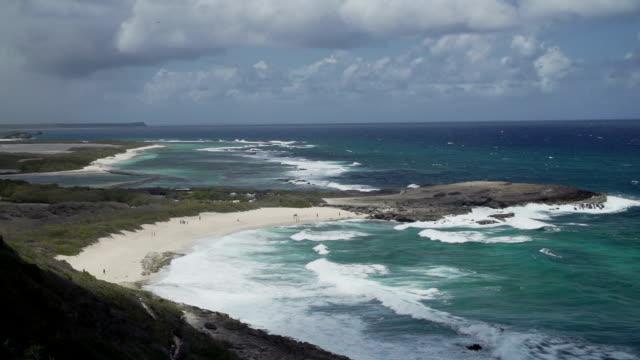 vidéos et rushes de caribbean coast - guadeloupe