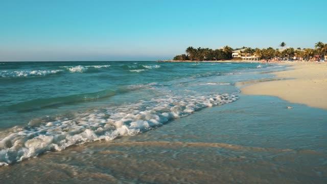 caribbean sea, varadero, cuba - cuba stock videos & royalty-free footage