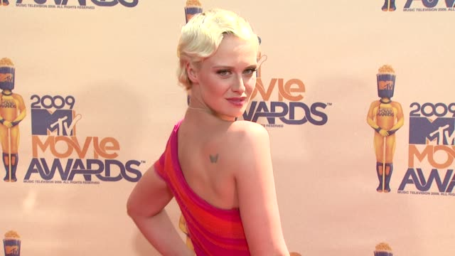 caridee english at the 18th annual mtv movie awards at universal city ca - universal city video stock e b–roll