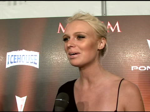 Caridee English on what brings her out tonight on being a huge fan of the magazine how she hopes to be included in next years list and who she would...