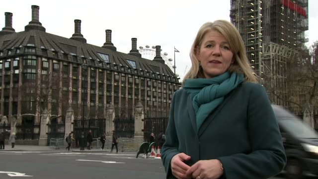 Carillion bosses questioned by work and pensions committee Parliament Square EXT Reporter to camera Portcullis House PHOTOGRAPHY*** Richard Howson...