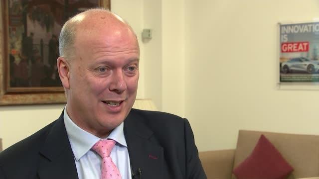 No bonuses for directors following liquidation ENGLAND London INT Chris Grayling MP interview SOT Liverpool EXT Royal Liverpool Hospital under...