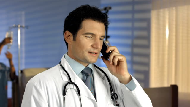 HD DOLLY: Caring Doctor On The Phone