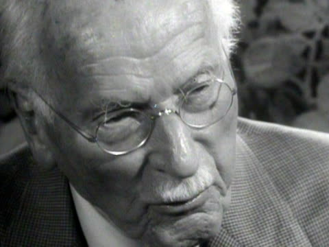 carl gustav jung discusses the importance of older people looking forward to the future - recreational pursuit stock videos & royalty-free footage