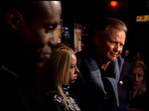 carl lewis at the 'collateral damage' premiere at the mann village theatre in westwood california on february 4 2002 - regency village theater stock-videos und b-roll-filmmaterial