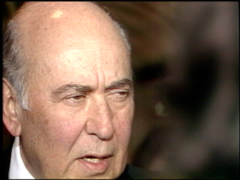 carl reiner at the afi awards honoring gregory peck at the beverly hilton in beverly hills california on march 9 1989 - gregory peck stock videos and b-roll footage
