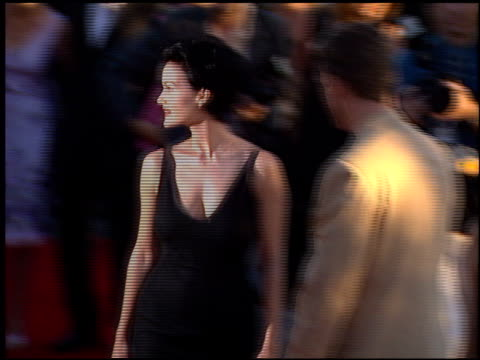 Carla Gugino at the 'Snake Eyes' Premiere at Paramount Theater in Hollywood California on July 30 1998