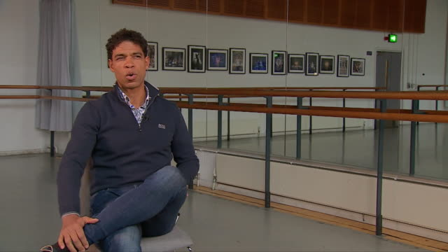 carlos acosta saying he wants to tell stories about birmingham through ballet after becoming director of birmingham royal ballet - latin american and hispanic stock videos & royalty-free footage