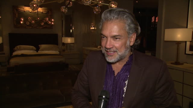 carlos mota on what drew him to rh new york tonight, what his favorite rh piece has been over the years, what stylistic traits continue to bring him... - audio hardware stock videos & royalty-free footage