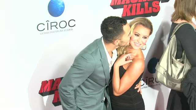 Carlos Pena Jr and Alexa Vega at Machete Kills Los Angeles Premiere Carlos Pena Jr and Alexa Vega at Machete Kills at Regal Cinemas LA Live on...