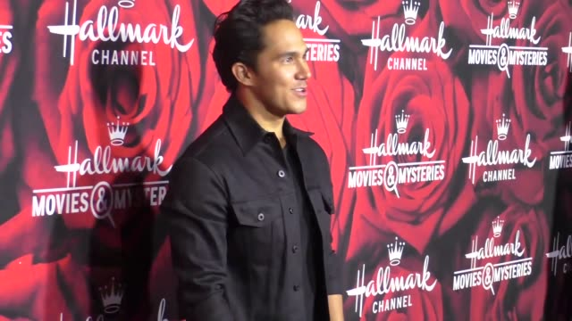 Carlos PenaVega at the Hallmark Channel and Hallmark Movies and Mysteries Winter 2017 TCA Press Tour at Tournament House on January 14 2017 in...