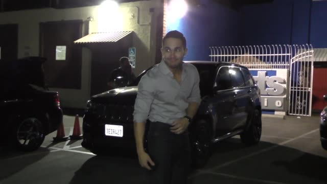 INTERVIEW Carlos PenaVega talks about reality shows at Dancing With The Stars Rehearsal Studio in Hollywood at Celebrity Sightings in Los Angeles on...